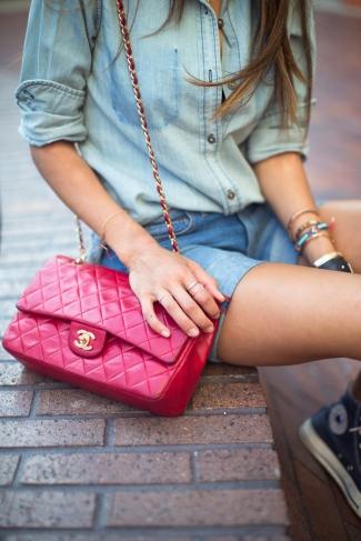 Chanel, Denim & Converse = Perfect